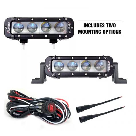 """Abrams Or Series 8"""" 40 Watt LED Work Light"""