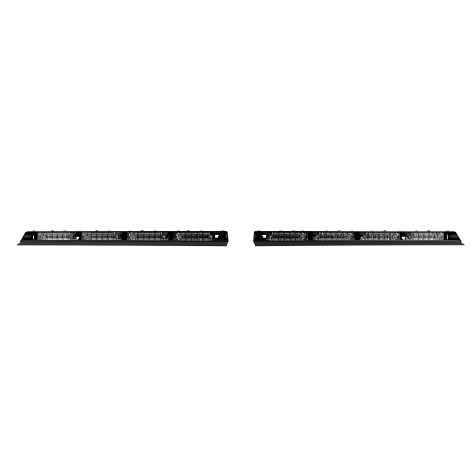 Abrams MFG Blitz Tri-Color Interior Lightbar