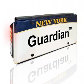 Guardian License Plate Intersection Warning Bracket
