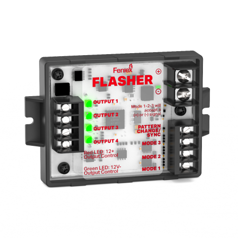 Feniex 3 Mode Flasher Module