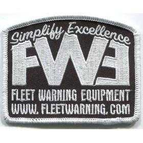 Fleet Warning Equipment Tactical Supporter Patch